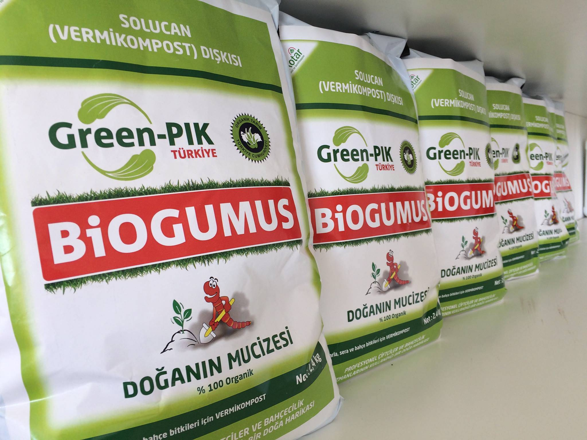 Solid Worm Fertilizer Biogumus