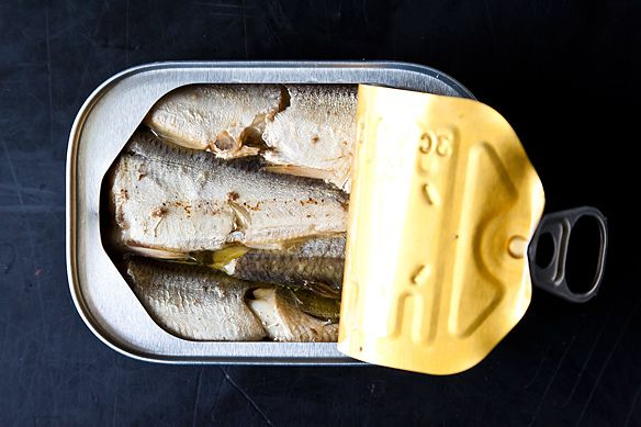 Canned Sardines in Soybean Oil