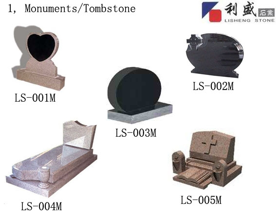 offer all kinds of tombstones