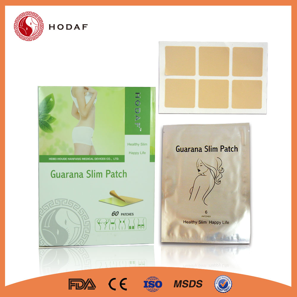 Hot sale health product guarana slimming patch