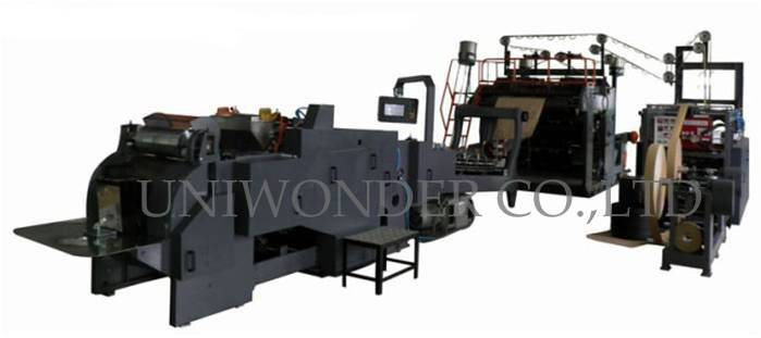 UW-WFD-430 Fully Automatic Paper Bag Machine