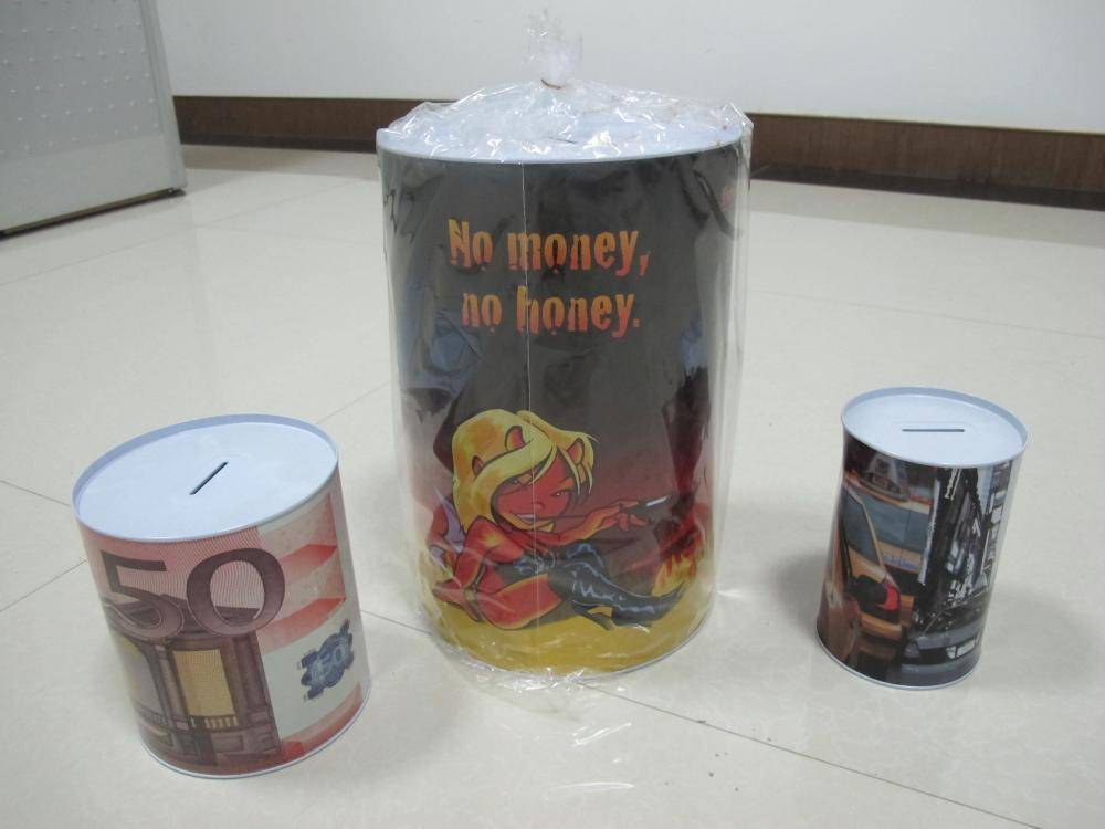Money box display 3