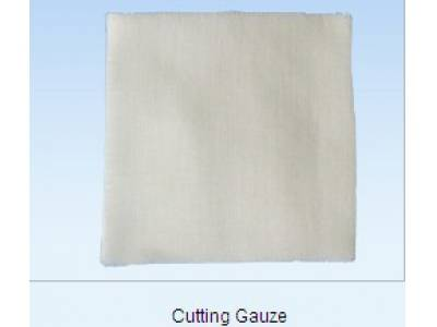 cutting gauze