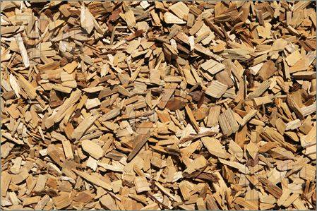 Pure wood chips