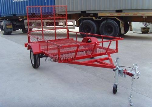 Powder coated ATV trailer