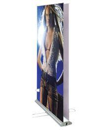 roll up banner stand;doulbe side banner stand;two side roll up banner stand