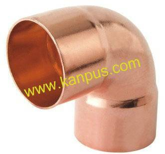 copper elbow for refrigeration and air conditioning (copper fitting, plumbing fitting)