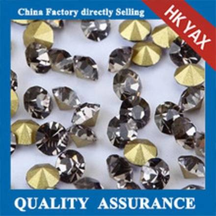 D0928 China factory rhinestone point back,chatons crystal rhinestones