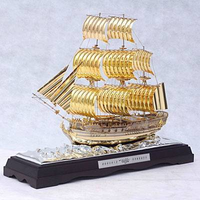 sell metal craft/decoration/sailing boat model