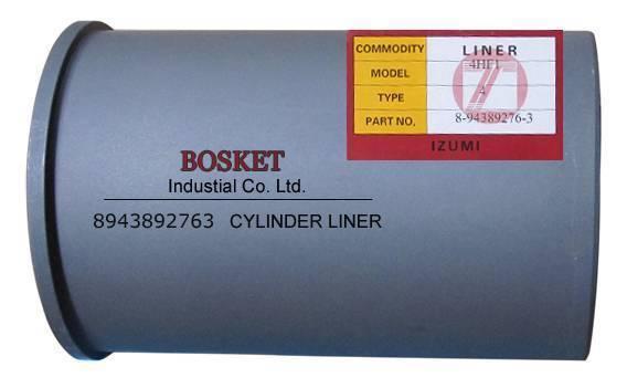 Engine Parts Cylinder Liner 8-94389276-3