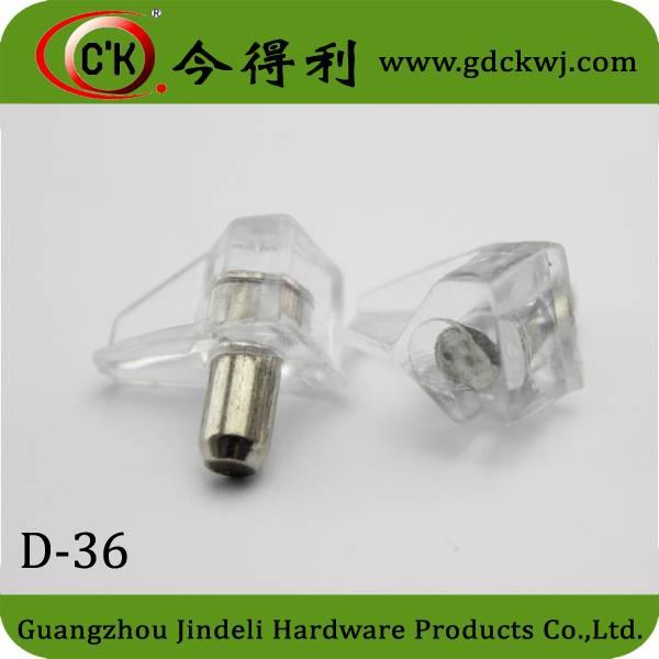 Free Sample Transparent 5mm Glass Hardware Self Support Fastener