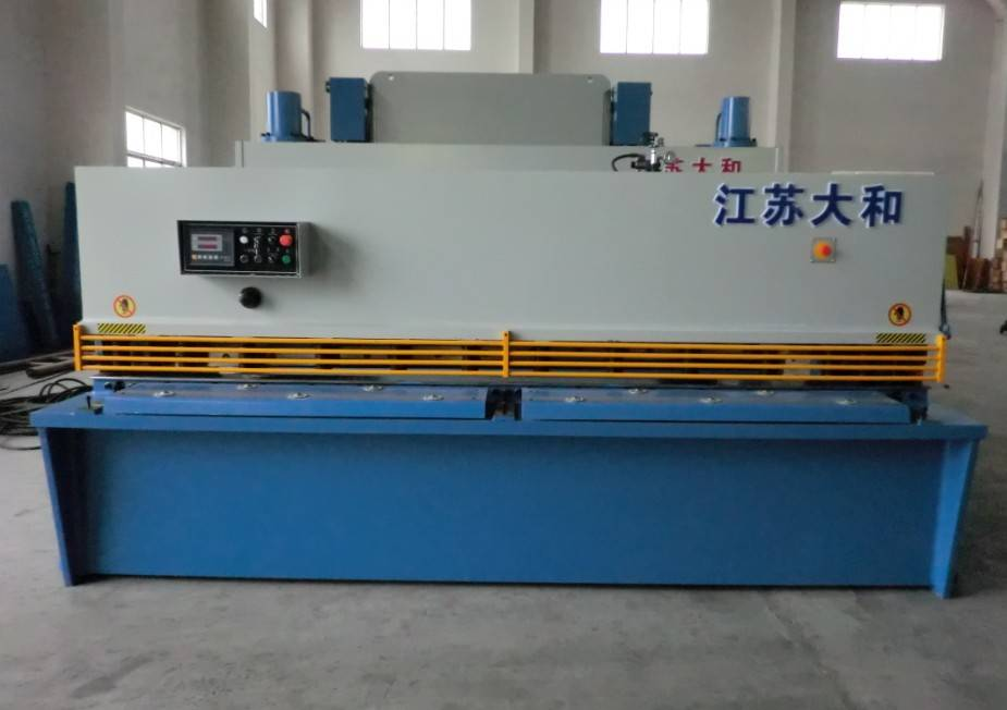 hydraulic swing beam shear QC12Y-12x2500