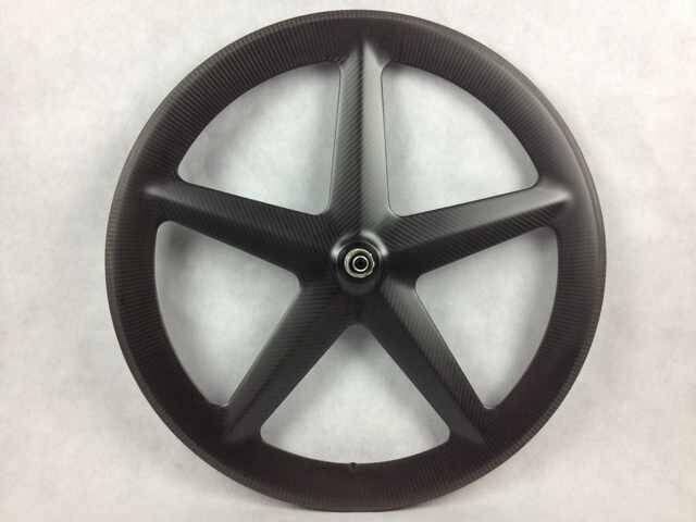 carbon five spoke wheel