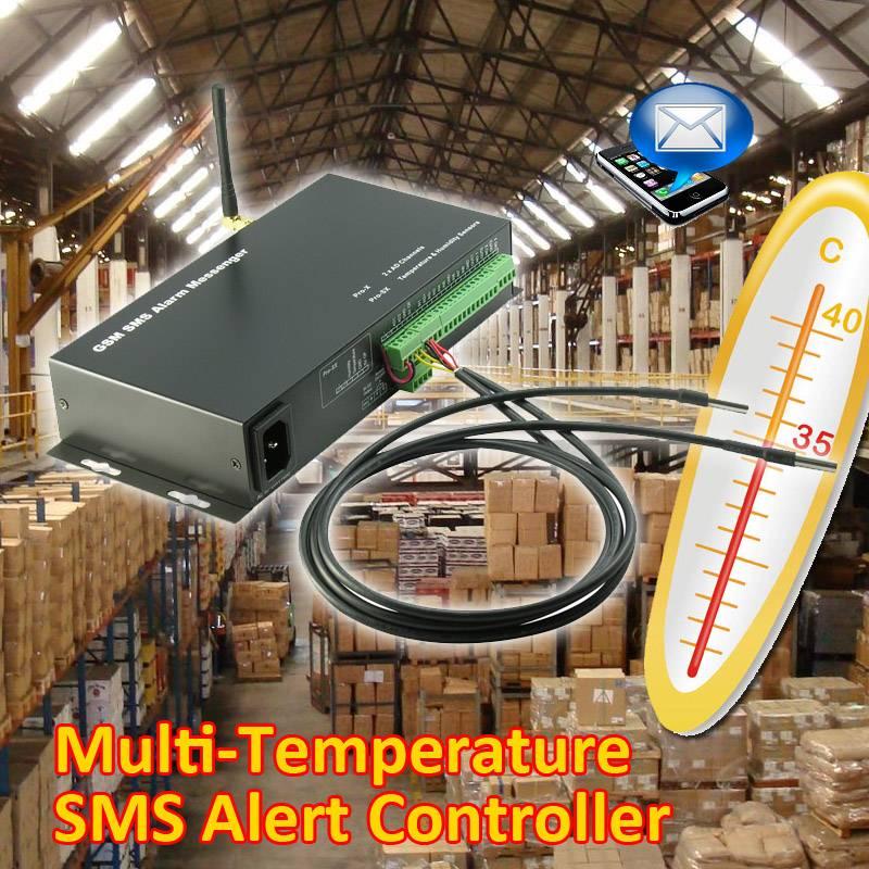 Duo Temperature SMS Alert Controller