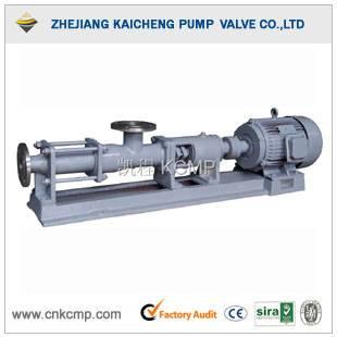 G single screw pump