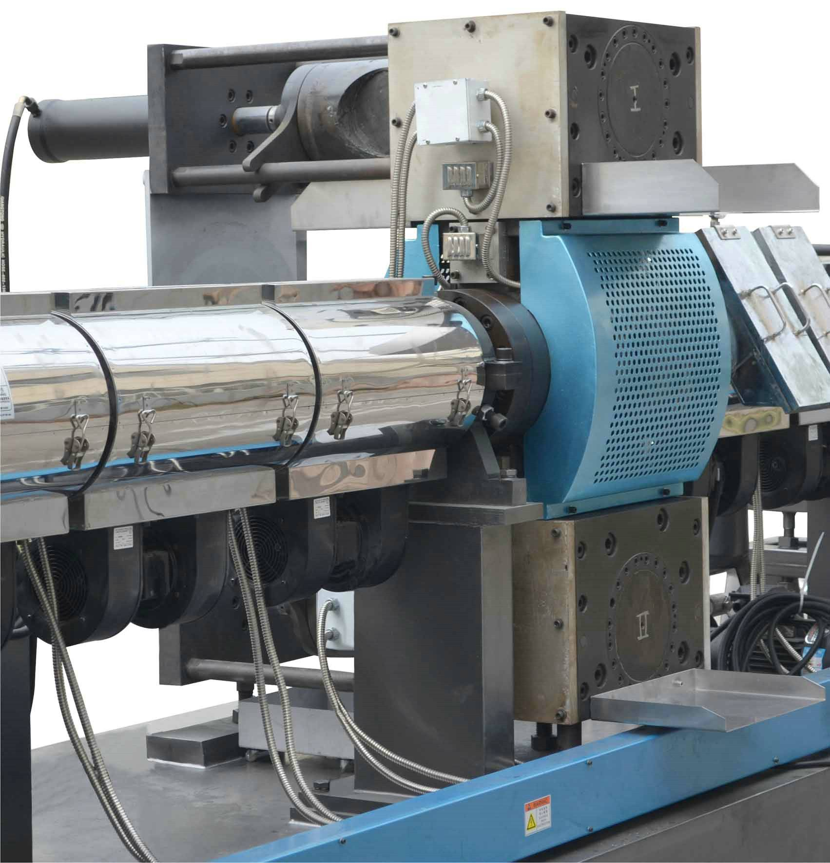PE, BOPP packaging film recycling machine with filter before the vacuum