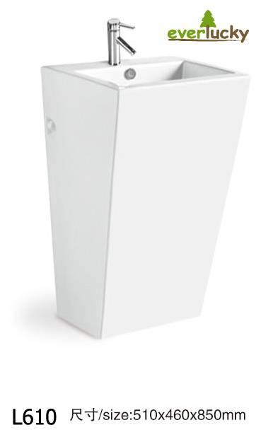 Ceramic Pedestl Basins L610