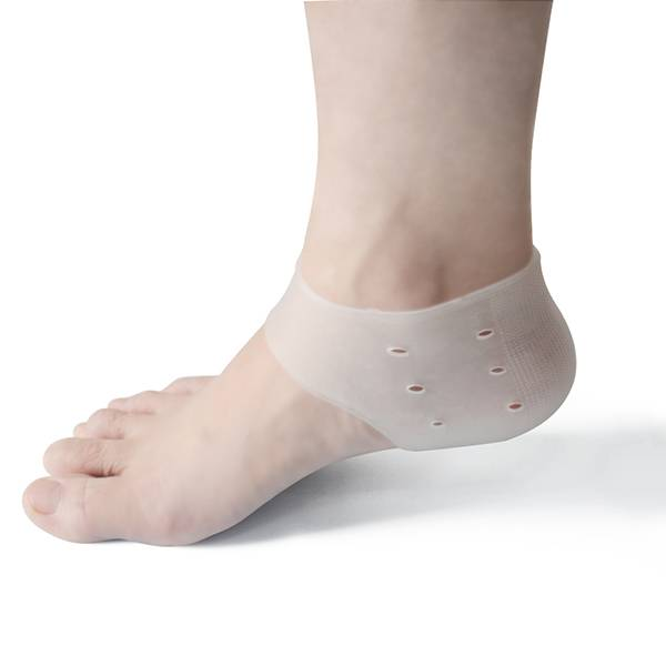 Crack silicone heel cushion protector