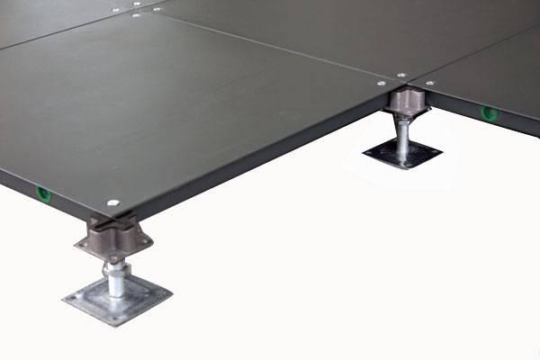 supply Steel raised flooring system