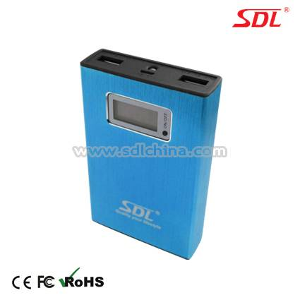 11200mAh Mobile Power Bank Power Supply External Battery Pack USB Charger E20