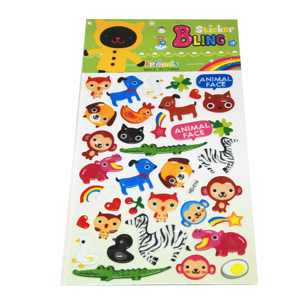 Glossy Puffy Sticker