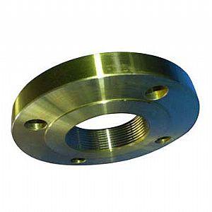 ASTM A182 F11, F22 NPT Thread Flanges, Golden, RF, EN1092-1