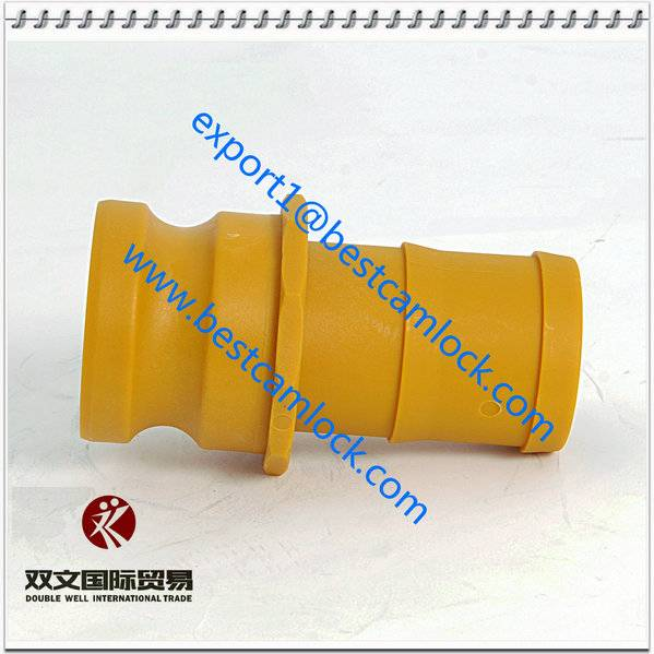 Nylon Hot sale competitive cam and groove quick coupling China manufacturertype E