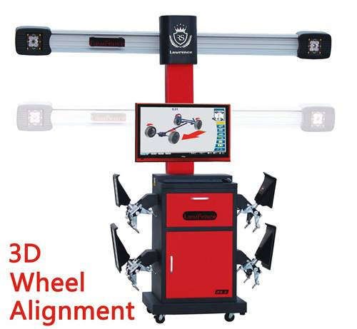 Lawrance manufacturer 3d wheel aliger