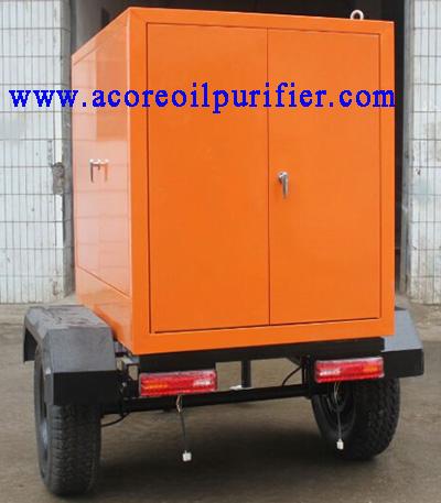 Mobile Trailer Transformer Oil Treatment Machine