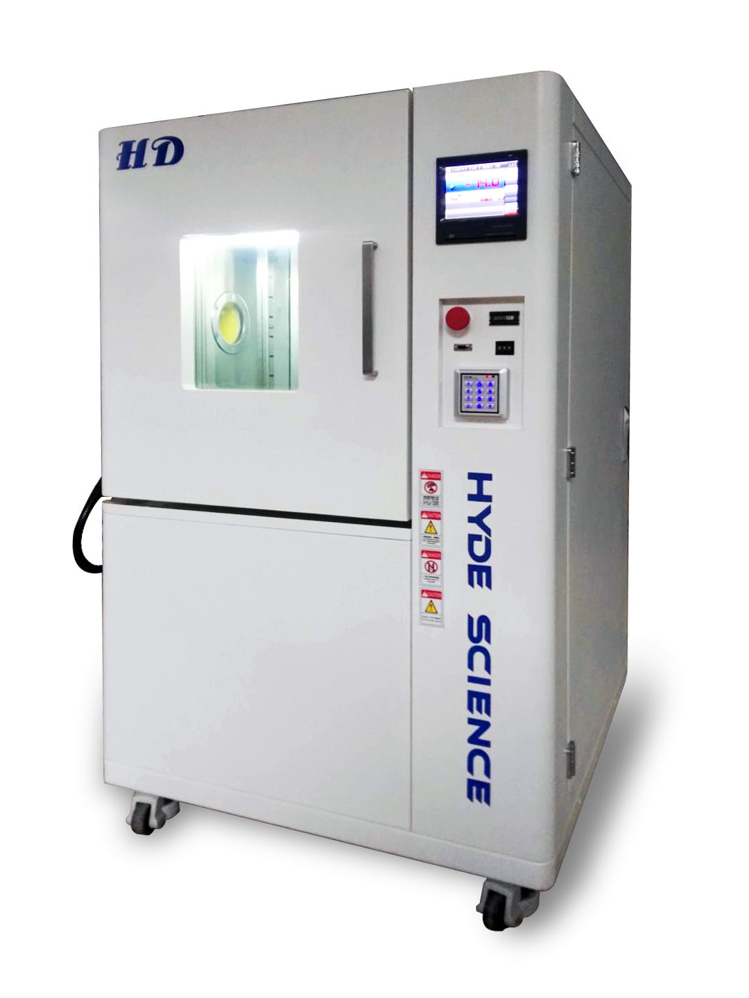 program high low temperature cycle test chamber