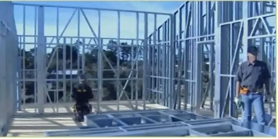 Sandwich panel wall cladding Steel Villa / steel structure / prefabricated building / Steel structur