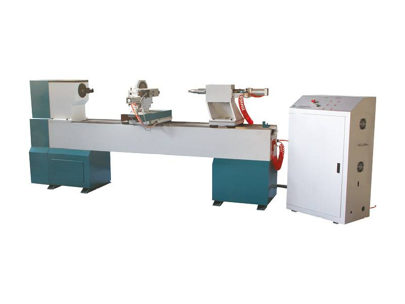 High Quality CNC Wood Turning Lathe with Engraving