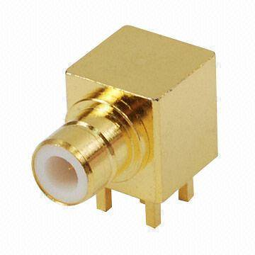 SMZ49-75 SMZ Coaxial Connector, Jack, Ideal for PCB Mount