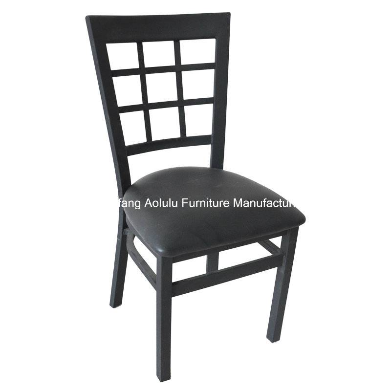 Metal Chair with Window Back (ALL-72)
