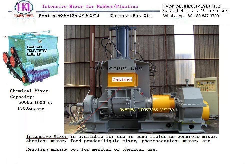 kneader & intensive mixer