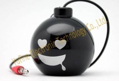 Supply bomb mini speaker, bomb gift speaker, Sales Promotion Electronic products, cheap gift speaker