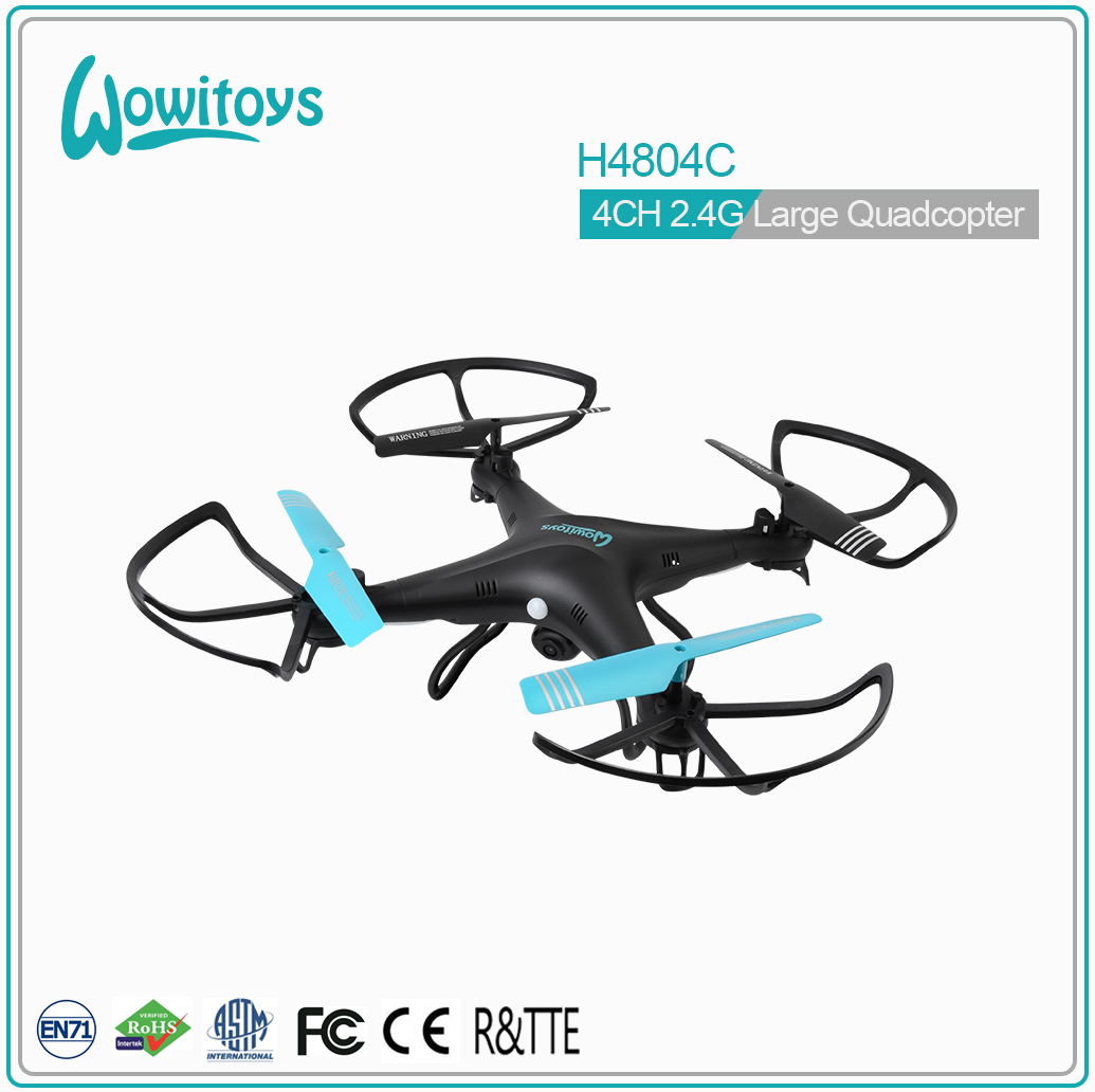 H4804C 2.4G RC drone with HD camera 1080P, basic helicopter