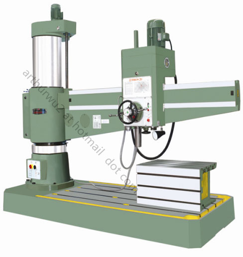 Z3080 Radial Drilling Machine (Hydraulic type)