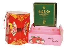 Copper plate paper box
