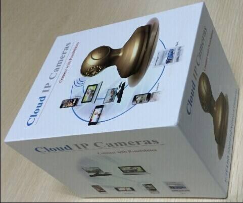 Indoor Pan Tilt p2p Wireless IP Camera with Memory recording