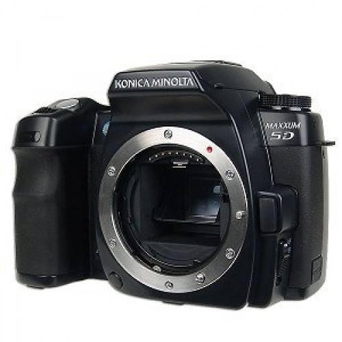 Konica Minolta Maxxum 5D 6.1MP Digital SLR Camera with Anti Shake