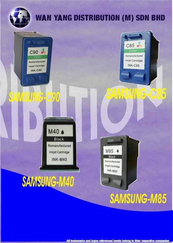 Samsung Compatible Inkjet Cartridge C90, C85
