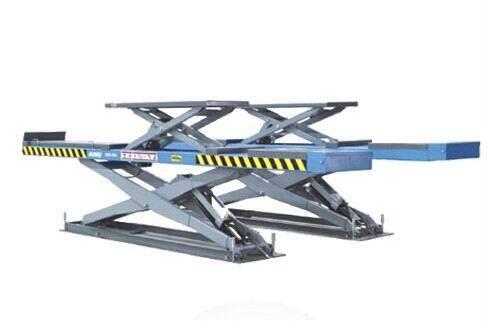 Sell garage equipment, wheel alignment scissor car lift