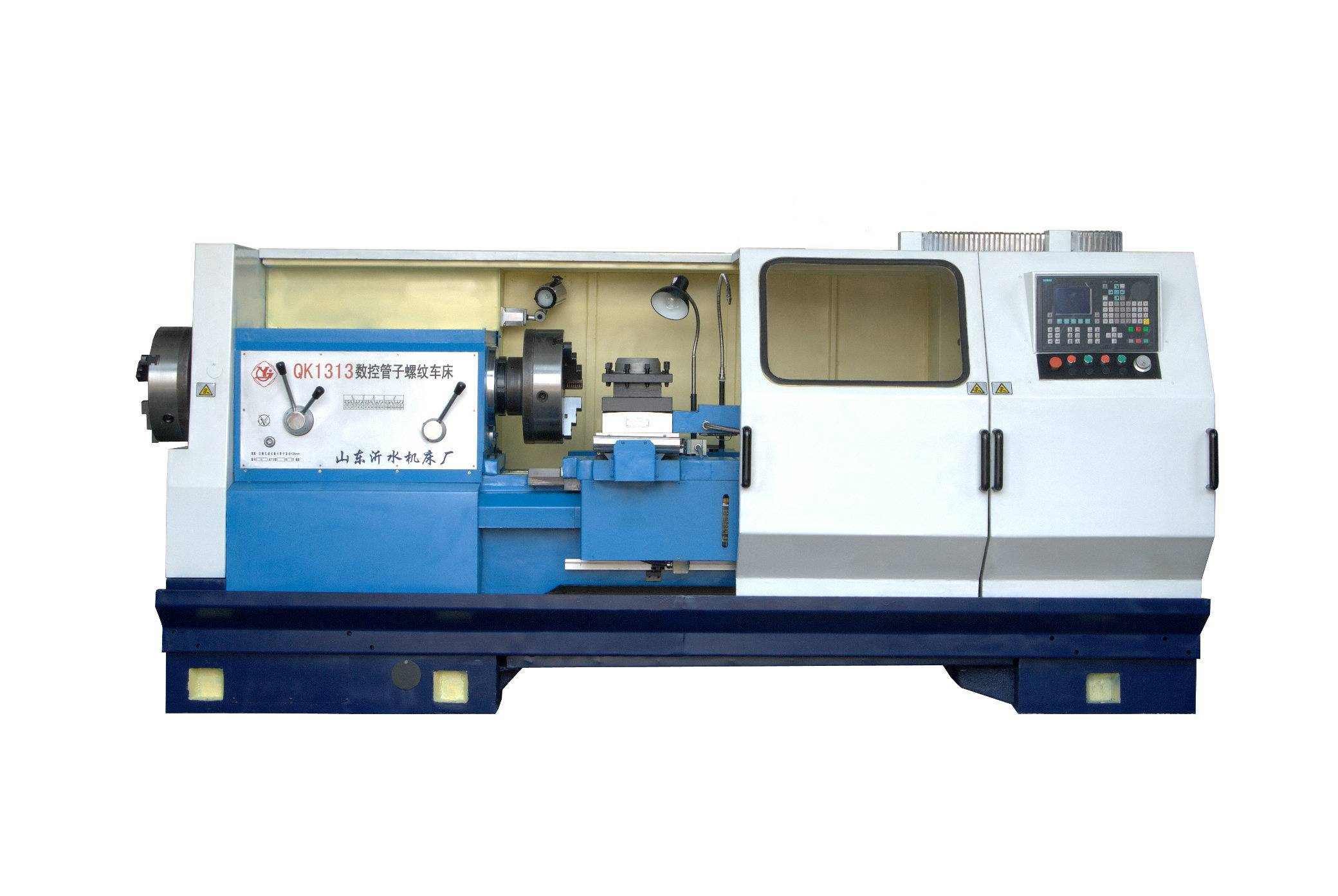 QK1319 CNC Pipe Threading Lathe Machine