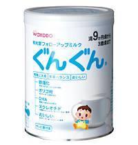 WAKODO powder milk GUNGUN HAIHAI baby JAPAN