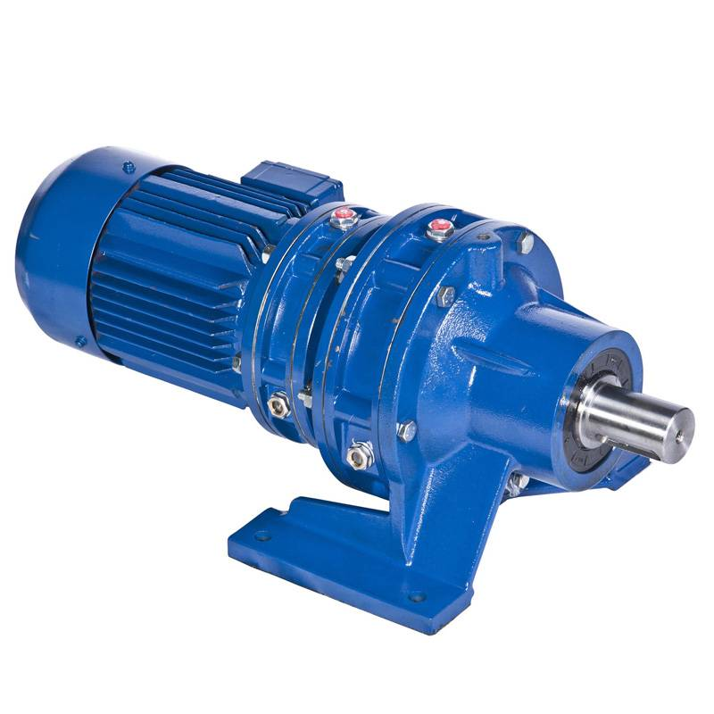 Cycloidal gearbox with motor