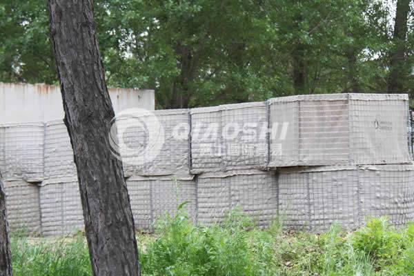 Multi-cellular HESCO defensive barriers Qiaoshi