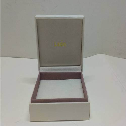 Logo Printed Paper Jewelry Gift Box,Luxury leather jewelry box