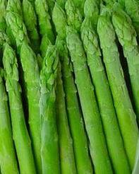 frozen green asparagus spear