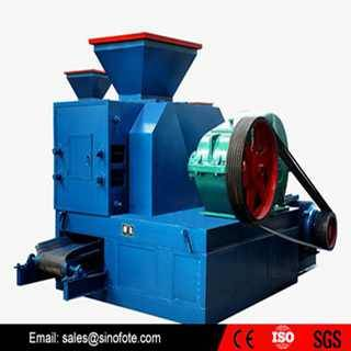 Hot sale ore powder briquetting machine
